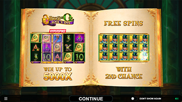 Book of Oz Lock 'N Spin