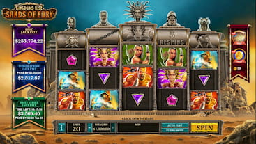 Sands Of Fury Slot