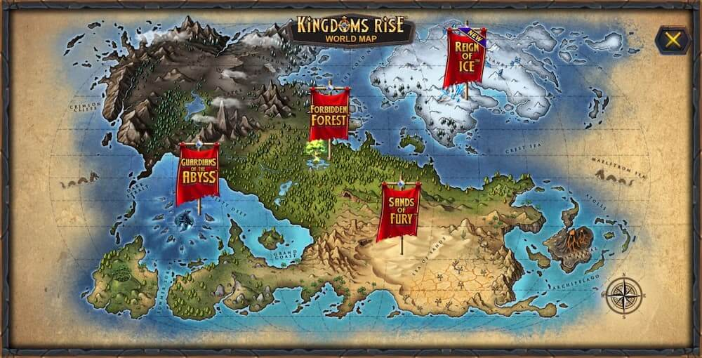 Kingdoms Rise Map