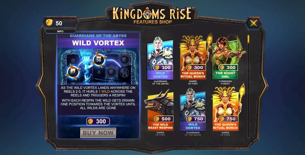 Kingdoms Rise Shop