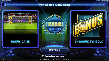 Football: Champions Cup Slot Game