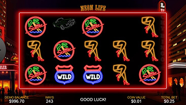 Play Neon Life Slot Game