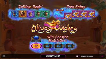 Aliya's Wishes Slot Game