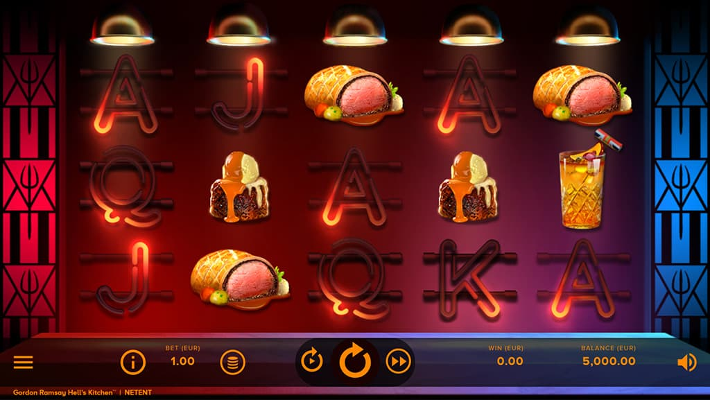 Hell's Kitchen's Slot Game by Gordon Ramsay