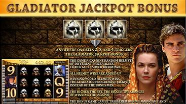 Gladiator Jackpot Slot Game