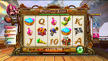 Pirate on the Edge Game