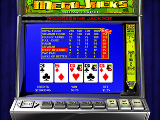 Spela Megajacks Videopoker Online
