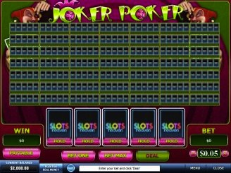 Play Joker Poker 50 Lines Online