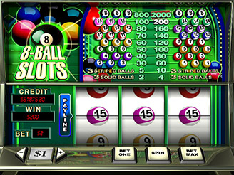 Play 8 Ball Slots Online