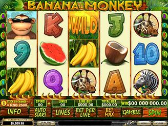 Play Banana Monkey Slots Online