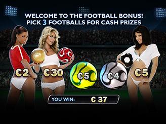Play Benchwarmer Football Girls Slots Online