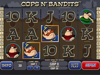 Play Cops n'Bandits Slots Online