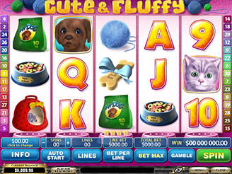 Play Cute & Fluffy Slots Online