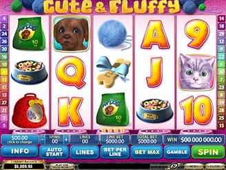 Spela Cute & Fluffy Spelautomater Online