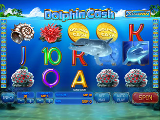 Play Dolphin Cash Slots Online