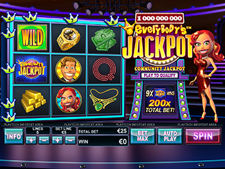 Play Everybody's Jackpot Slots Online
