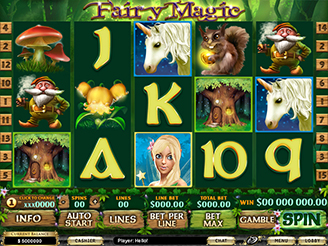 Play Fairy Magic Slots Online