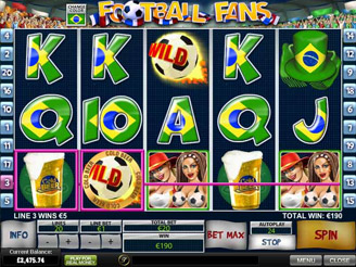 Play Football Fans Slots Online