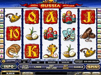 From Russia With Love Slots - Play for Free Online