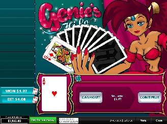 Play Genie's HiLo Arcade Game Online