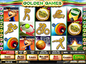 Play Golden Games Slots Online