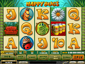 Play Happy Bugs Slots Online