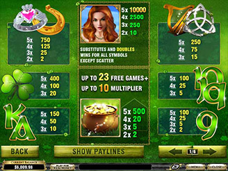 Play Irish Luck Slots Online
