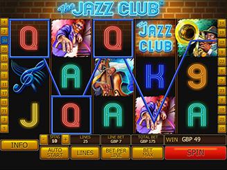 Play The Jazz Club Slots Online