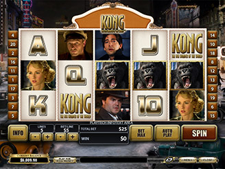 Play Kong The Eight Wonder of the World Slots Online
