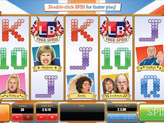 Play Little Britain Slots Online