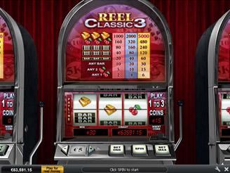 Play Reel Classic 3 Slots Online