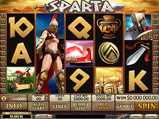 Play Sparta Slots Online