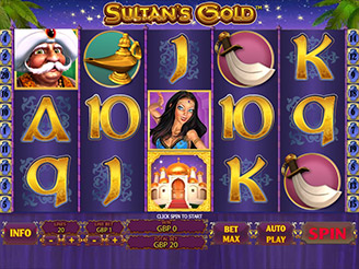 Play Sultan's Gold Slots Online