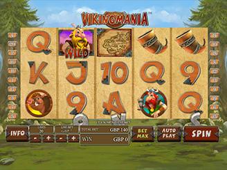 Play Vikingmania Slots Online
