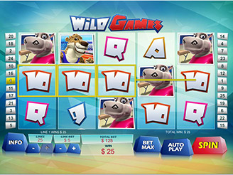 Play Wild Games Slots Online
