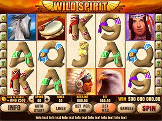 Play Wild Spirit Slots Online