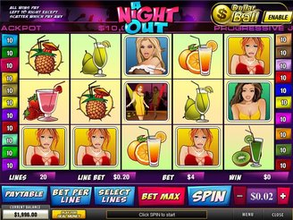 Play A Night Out Scratch Online at Casino.com NZ