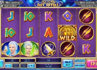 Play Age of the Gods: Fate Sisters Slots Online