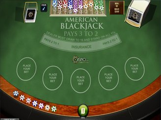 Spela Amerikansk Blackjack Online