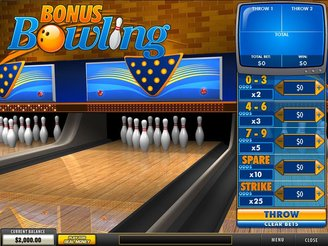 Play Bonus Bowling Arcade Game Online