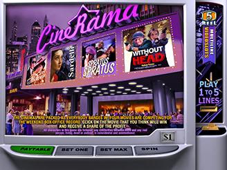 Play Cinerama Slots Online