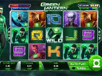 Play Green Lantern Slots Online