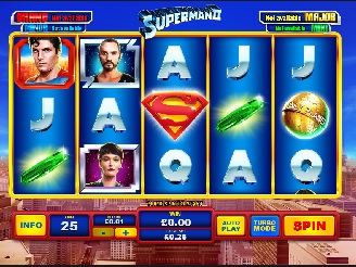 Play Superman II Slots Online