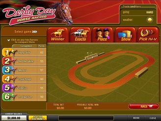 Play Derby Day Arcade Game Online