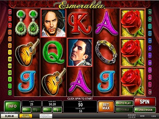 Spela Esmeralda Spelautomater Online