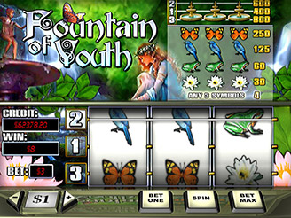 Play Fountain of Youth Slots Online