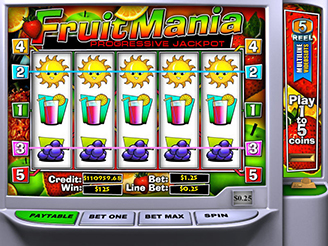Play Fruitmania Slots Online