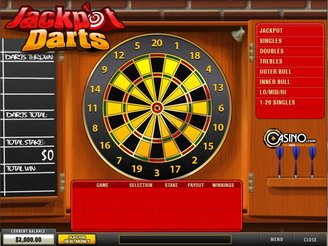 Play Jackpot Darts Progressive Arcade Game Online