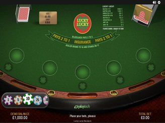 Play Lucky Lucky Blackjack Online