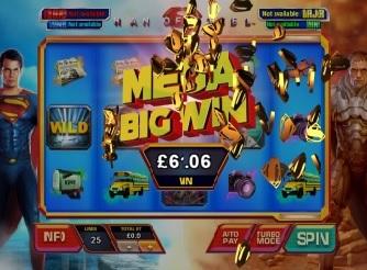Play Man of Steel Slots Online
